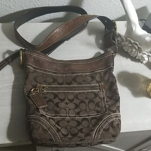 Coach messenger crossbody bag
